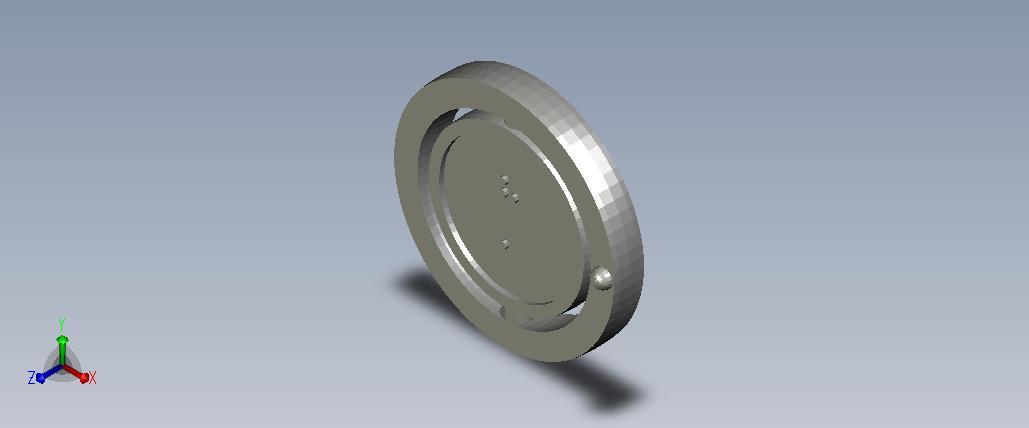 3D model of the atom Hydrogen